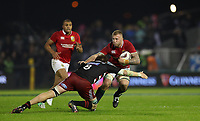 Rugby Union - 2017 British & Irish Lions Tour of New Zealand - New Zealand Provincial Barbarians vs. British & Irish Lions<br /> <br /> Mitchell Dunshea of New Zealand Provincial Barbarians and Ross Moriarty of The British and Irish Lions during the match at Toll Stadium [Okara Park], Whangarei.<br /> <br /> COLORSPORT/LYNNE CAMERON