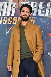 Shazad Latif attending a Star Trek: Discovery fan screening at Millbank Tower in London.