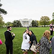 White House Spring Garden Tour, April 2015.