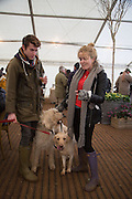 ALEX ANDREW; EMILY CLARKSON, Heythrop Point to Point. At a  new course at Cocklebarrow near Aldsworth. 11 January 2014