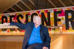 © Licensed to London News Pictures. 17/11/2016. London, UK. Founder, Sir Terence Conran, as The Design Museum opens in its new home on Kensington High Street, west London.  Housed in the former Commonwealth Institute, the building has been redesigned by John Pawson following an investment of £83m, and a five-year construction process for its future role as the world's leading institution dedicated to contemporary design and architecture. Photo credit : Stephen Chung/LNP