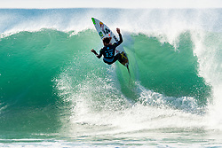Adriano de Souza (BRA) advances to Round 4 of the 2018 Coronna Open J-Bay after winning Heat 8 of Round 3 at Supertubes, Jeffreys Bay, South Africa.