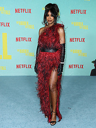 Singer Kelly Rowland arrives at the Los Angeles Premiere Of Netflix's 'The Harder They Fall' held at the Shrine Auditorium and Expo Hall on October 13, 2021 in Los Angeles, California, United States. Photo by Xavier Collin/Image Press Agency/ABACAPRESS.COM