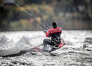 ÖSTERSUND, SVERIGE - 23 September 2018 :  Bilder från Kitesurfing i Mårtensviken den 23 September i Östersund ( Foto: Per Danielsson) <br /> <br /> Nyckelord Keywords: Kite, Kitesurfing, *Kitesurfing på Storsjön