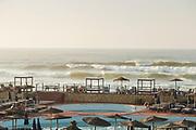 Lido and sea in Casablanca, Morocco