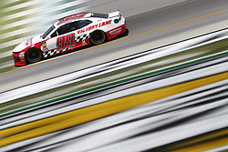 July 13, 2018 - Sparta, Kentucky, United States of America - Garrett Smithley (99) brings his race car down the front stretch during practice for the Quaker State 400 at Kentucky Speedway in Sparta, Kentucky. (Credit Image: © Chris Owens Asp Inc/ASP via ZUMA Wire)