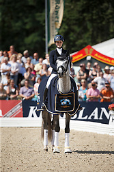 Knoll Ines, (GER), FBW Fairplay H<br /> Final 6 years old horses<br /> World Championship Young Dressage Horses - Verden 2015<br /> © Hippo Foto - Dirk Caremans<br /> 09/08/15