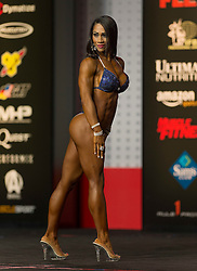 Sept.16, 2016 - Las Vegas, Nevada, U.S. -  MARCIA GONCALVES competes in the Bikini Olympia contest during Joe Weider's Olympia Fitness and Performance Weekend.(Credit Image: © Brian Cahn via ZUMA Wire)
