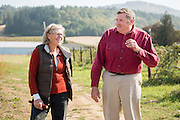 Anthony and Carol Boutard of Ayers Creek Farm