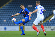 Jordan Williams  during the The FA Cup 2nd round match between Rochdale and Portsmouth at Spotland, Rochdale, England on 2 December 2018.
