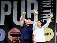 A Thousand Thank Yous for the NHS, with Tom Kerridge and Paul Ainsworth at  the Pub in the Park Warwick photo by Michael Butterworth