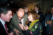 SWISS AMBASSADOR: ALEXIS P. LAUTENBERG AND TESSA JOWELL, The launch of Your Game 2008. Swiss Ambassador's Residence car park. Bryanston Sq. London. W1. 28 February 2008.  *** Local Caption *** -DO NOT ARCHIVE-© Copyright Photograph by Dafydd Jones. 248 Clapham Rd. London SW9 0PZ. Tel 0207 820 0771. www.dafjones.com.
