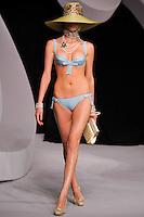 Marta Berzkalna walks the runway  at the Christian Dior Cruise Collection 2008 Fashion Show