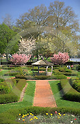 Harrisburg, PA, Sunken Garden, Spring, Riverfront Park