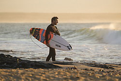 July 14, 2017 - Joel Parkinson of Australia heading out for a morning freesurf on the third layday of the Corona Open J-Bay at Supertubes...Corona Open J-Bay, Eastern Cape, South Africa - 14 Jul 2017. (Credit Image: © Rex Shutterstock via ZUMA Press)