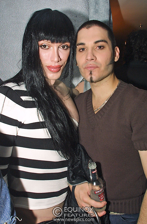 Musician Pete Burns who's death was announced 24 October 2016. The launch party for new gay club The Shadow Lounge situated at 5 Brewer Street, Soho, London the site of the old Astral cinema and table dancing club.<br /> ©2001 Edward Hirst/Equinox Features +448700780000<br /> <br /> Time Taken: 235420<br /> Date Taken: 20010711<br /> Picture ID: EQRA17B2134