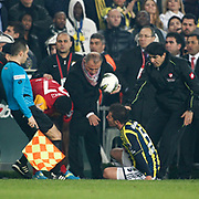 Galatasaray's coach Fatih Terim during their Turkish superleague soccer derby match Fenerbahce between Galatasaray at Sukru Saracaoglu stadium in Istanbul Turkey on Saturday 17 March 2012. Photo by TURKPIX