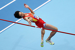 08.03.2014, Ergo Arena, Sopot, POL, IAAF, Leichtathletik Indoor WM, Sopot 2014, im Bild YU WANG // YU WANG during day two of IAAF World Indoor Championships Sopot 2014 at the Ergo Arena in Sopot, Poland on 2014/03/08. EXPA Pictures © 2014, PhotoCredit: EXPA/ Newspix/ Piotr Matusewicz<br /> <br /> *****ATTENTION - for AUT, SLO, CRO, SRB, BIH, MAZ, TUR, SUI, SWE only*****