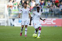 Samuel UMTITI - 09.05.2015 -  Caen / Lyon  - 36eme journee de Ligue 1<br />
