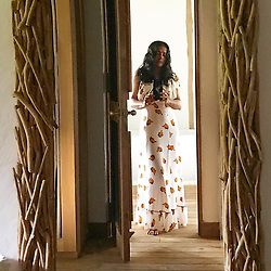"""Salma Hayek releases a photo on Instagram with the following caption: """"This 2019 I hope you find the path that leads you to your greatest destiny.  En este a\u00f1o 2019 espero que encuentres el camino que te lleve a tu m\u00e1s grandioso destino. #2019"""". Photo Credit: Instagram *** No USA Distribution *** For Editorial Use Only *** Not to be Published in Books or Photo Books ***  Please note: Fees charged by the agency are for the agency's services only, and do not, nor are they intended to, convey to the user any ownership of Copyright or License in the material. The agency does not claim any ownership including but not limited to Copyright or License in the attached material. By publishing this material you expressly agree to indemnify and to hold the agency and its directors, shareholders and employees harmless from any loss, claims, damages, demands, expenses (including legal fees), or any causes of action or allegation against the agency arising out of or connected in any way with publication of the material."""