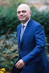 Downing Street, London, February 21st 2017. Communities and Local Government Secretary Sajid Javid attends the weekly cabinet meeting at 10 Downing Street in London.