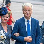 NLD/Den Haag/20180918 - Prinsjesdag 2018, Fleur Agema en Geert Wilders