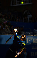 Britain's Andy Murray serves to Croatia's Martin Cilic, during their final match for the Aegon Championships at the Queen's Club in London, Britain, 15 June 2013. EPA/BOGDAN MARAN