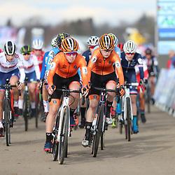 01-02-2020: Wielrennen: WK Veldrijden: Dubendorf <br />Shirin van Anrooij