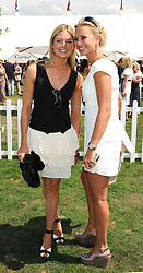Left to right, ISABELLA ANSTRUTHER-GOUGH-CALTHORPE and HOLLY BRANSON at the Cartier International Polo at Guards Polo Club, Windsor Great Park on 27th July 2008.<br /> <br /> NON EXCLUSIVE - WORLD RIGHTS