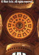 Interior dome, Bradford Co. Courthouse, Towanda, NE PA