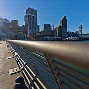 Pier on the Embarcadero in San Francisco