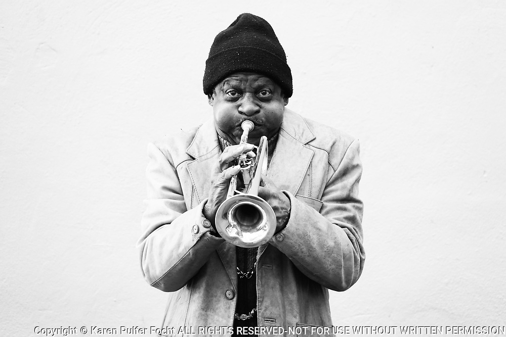 Street Musician, New Orleans, Louisiana.