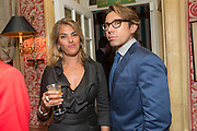 TRACEY EMIN; SCOTT LYON WALL, Charles Finch and  Jay Jopling host dinner in celebration of Frieze Art Fair at the Birley Group's Harry's Bar. London. 10 October 2012.