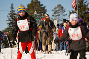 The kids Barnebirkie as part of the American Birkebeiner race in Hayward and Cable Wisconsin. Photo by Mike Roemer / Mike Roemer Photography Inc.