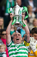 Football - Scottish Cup Final - Celtic vs Hibernian<br /> <br /> Scott Brown with the trophy following Celtic's Scottish Cup Final win against Hibernian at Hampden Stadium, Glasgow<br /> 26th May 2013<br /> <br /> Colorsport