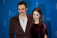 Franz Rogowski and Paula Beer at the photocall for the film Undine at the 70th Berlinale International Film Festival, on Sunday 23rd February 2020, Hotel Grand Hyatt, Berlin, Germany. Photo credit: Doreen Kennedy