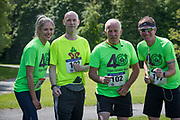 NO FEE PICTURES<br /> 19/5/18 Hundreds of people of all ages lapped up the summer sunshine when they came out to support an important cause which is close to many of their hearts, organ donation, by taking part in the Irish Kidney Association's 'Run for a Life' family fun run which took place at Corkagh Park, Clondalkin, Dublin 22 on Saturday 19th May.   (www.runforalife.ie) Pictured Mary oneill,  Martin traynor, Paul Madden, fergal Reilly, skerries. Picture:Arthur Carron