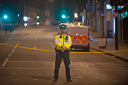 ©Licensed to London News Pictures 08/09/2019.<br /> Sydenham ,UK. Man in his twenties is dead after a shooting in Sydenham, South East London. A police cordon is in place as forensic officers work at the scene tonight. Photo credit: Grant Falvey/LNP