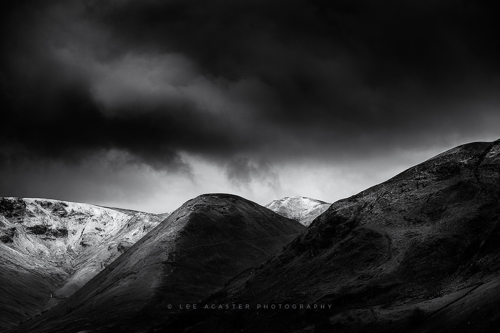 I had a couple of hours to shoot before heading home on the Tuesday in the lakes. Ullswater was very choppy and flooded, so I abandoned that and decided to head up again. Dont ask me where this is as I havent a clue, but this was as high as I got before the weather looked a bit menacing and I got the fear and made a rapid retreat.