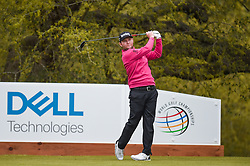 March 23, 2018 - Austin, TX, U.S. - AUSTIN, TX - MARCH 23: Branden Grace watches his tee shot during the third round of the WGC-Dell Technologies Match Play on March 23, 2018 at Austin Country Club in Austin, TX. (Photo by Daniel Dunn/Icon Sportswire) (Credit Image: © Daniel Dunn/Icon SMI via ZUMA Press)