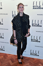 ISABEL MARANT at the 17th Elle Style Awards 2014 in association with Warehouse held at One Embankment, 8 Victoria Embankment, London on 18th February 2014.
