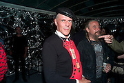 JUDY BLAME, Mark Jacobs' Bang' fragrance preview. Harvey Nicholls. London. 22 July 2010. -DO NOT ARCHIVE-© Copyright Photograph by Dafydd Jones. 248 Clapham Rd. London SW9 0PZ. Tel 0207 820 0771. www.dafjones.com.