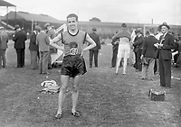 H2609<br /> Aonach Tailteann Athletics. Portrait athlete (N.D.).<br /> 1932 (Part of the Independent Newspapers Ireland/NLI Collection)