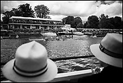 Henley-On-Thames, Berkshire, UK.,Sunday, 15.08.21,   Leander Club Women's straight four, passes, Phyllis Court Club Grandstand, 2021 Henley Royal Regatta, Henley Reach, River Thames, Thames Valley,  [Mandatory Credit © Peter Spurrier/Intersport Images], Finals' Day,