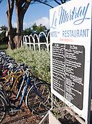 A hotel and restaurant at Le Martray, Île de Ré, France