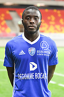 Pape Abdou Paye  during the French Ligue 2 match between Quevilly Rouen and Bourg en Bresse on 11th August 2017<br />Photo by Philippe le Brech / Icon Sport