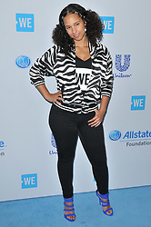 Alicia Keys arrives at We Day California 2017 held at The Forum in Inglewood, CA on Thursday, April 27, 2017. (Photo By Sthanlee B. Mirador) *** Please Use Credit from Credit Field ***