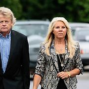 NLD/Bilthoven/20120618 - Uitvaart Will Hoebee, Marga Scheide en partner Michiel Gunning