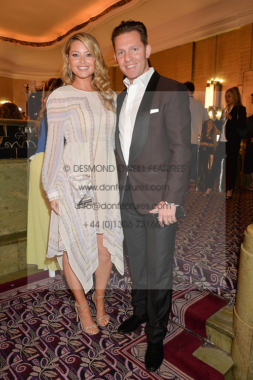 NICK & HOLLY CANDY at the WGSN Global Fashion Awards 2015 held at The Park Lane Hotel, Piccadilly, London on 14th May 2015.