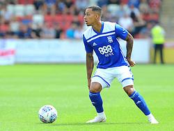 Josh Dacres- Cogley of Birmingham City in action - Mandatory by-line: Nizaam Jones/JMP - 21/07/2018 - FOOTBALL - Jonny-Rocks Stadium - Cheltenham, England - Cheltenham Town v Birmingham City - Pre-season friendly